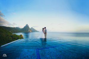 Ashleigh and Joe Handzik, St. Lucia wedding