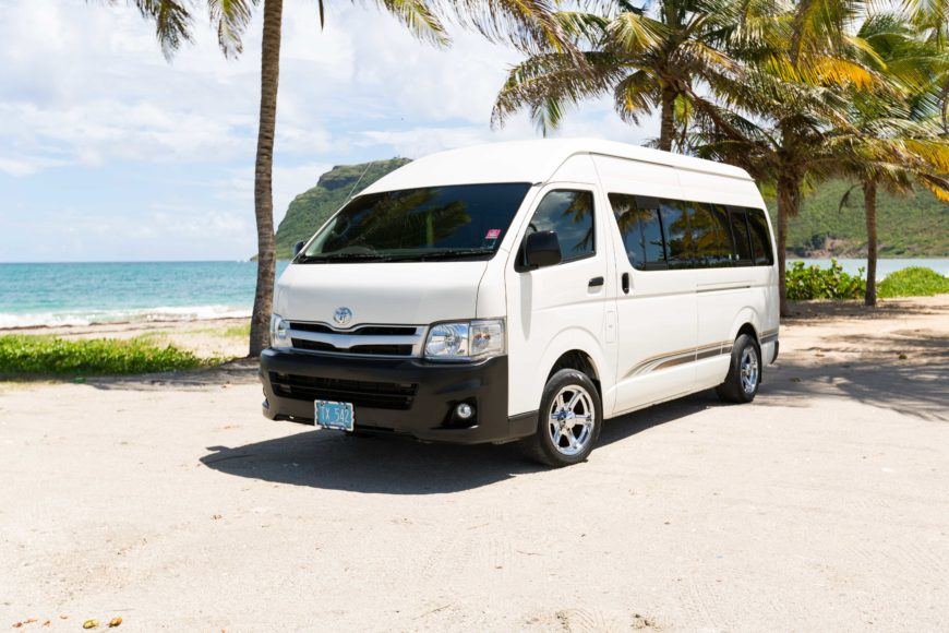 St  Lucia Airport Transfers and Taxi Service - Safe