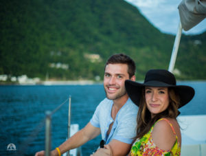 Sunset cruise, Soufriere St. Lucia